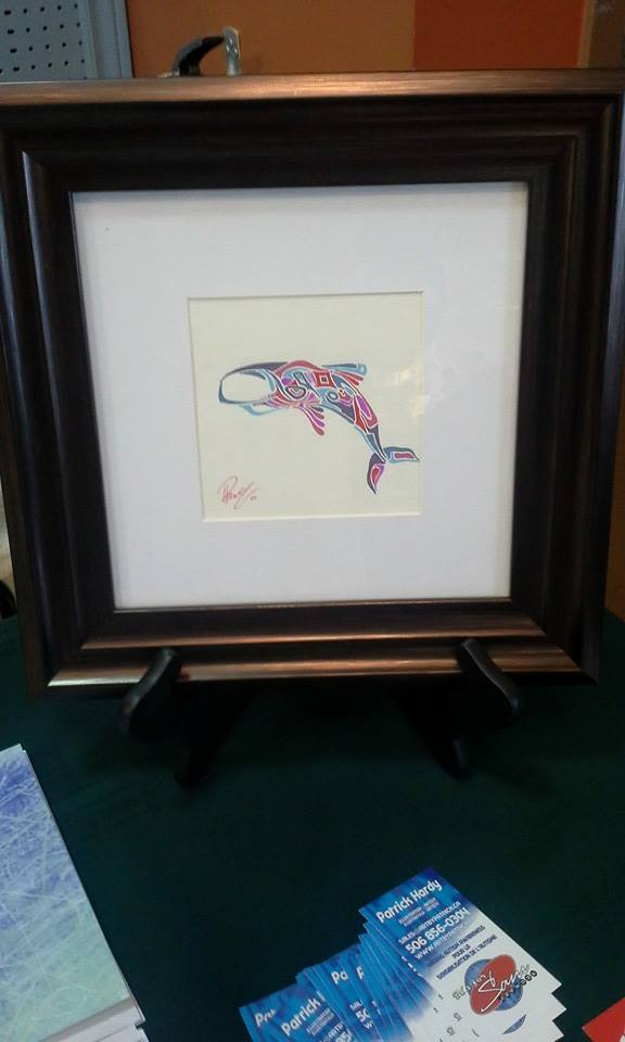 small whale - sold