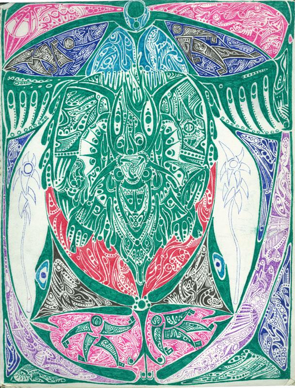 Totem - ink