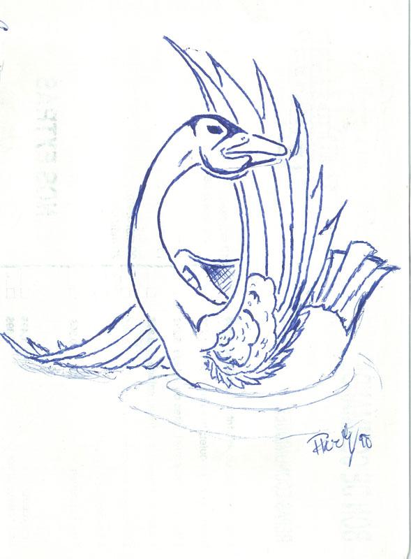 Swan - Ink