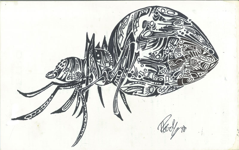 Arachnid - ink