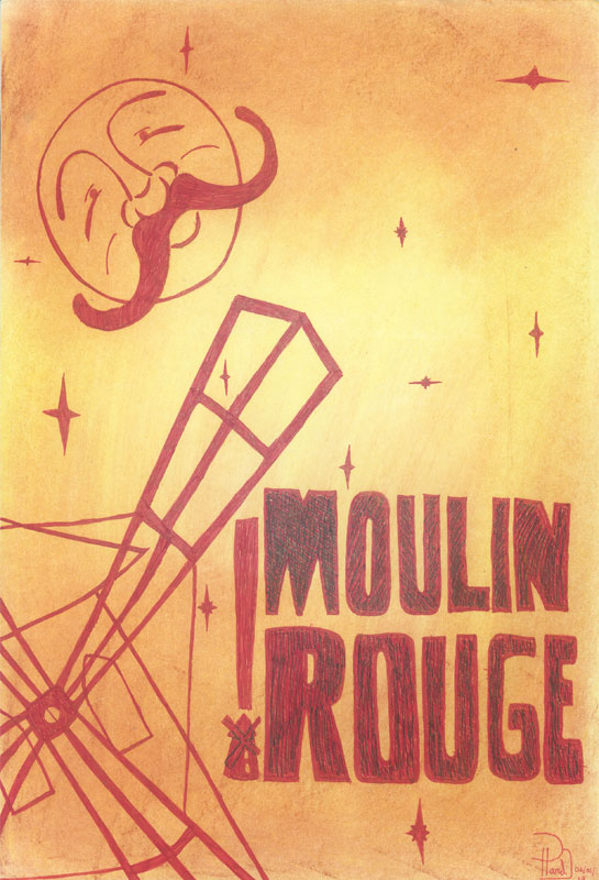 Moulin Rouge - donated