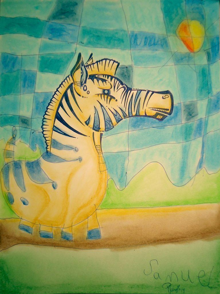 Zebra walk - Sold