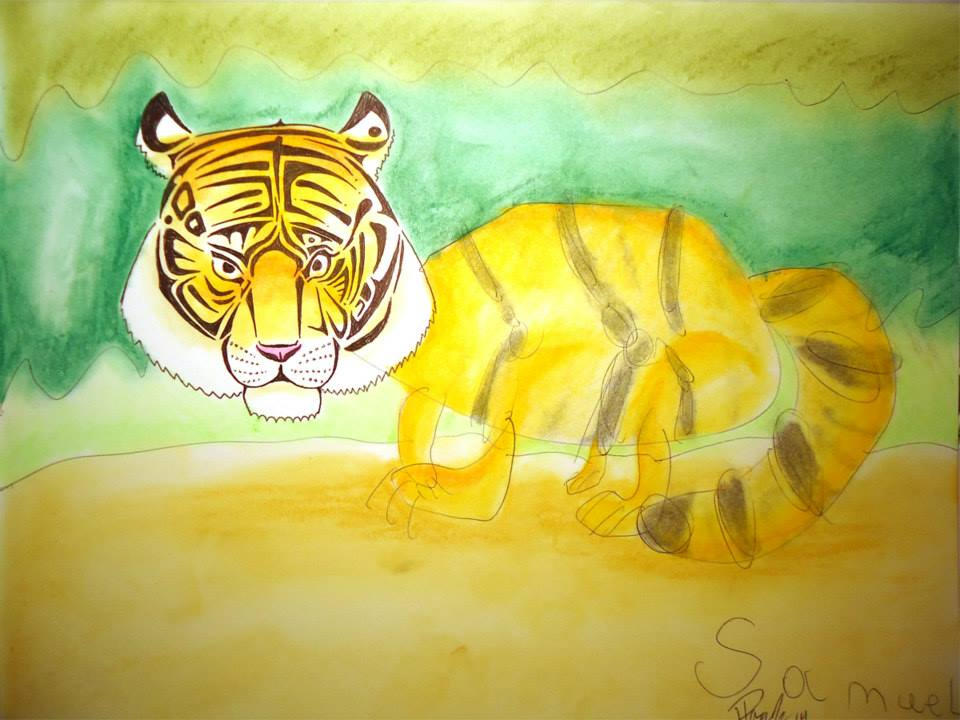 Crouching Tiger - Sold
