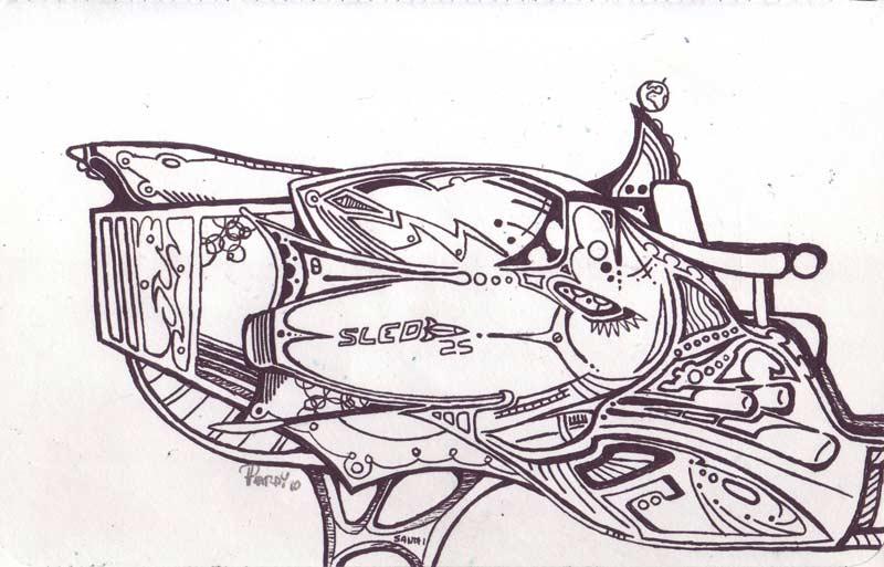 Sled - Ink