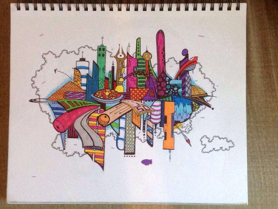 Pen city 1 - Ink