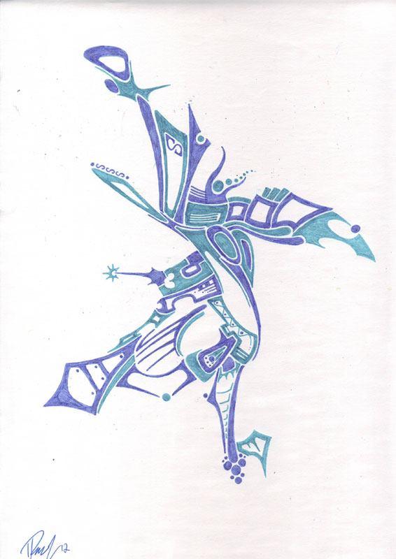 Bird - Ink