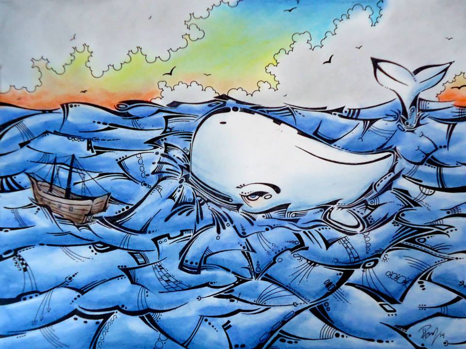 Moby Dick - Sold