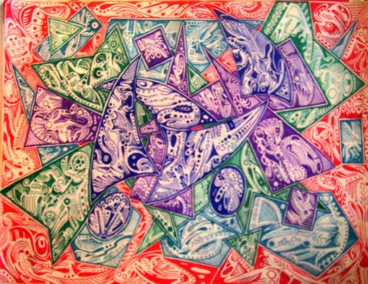shapes - ink