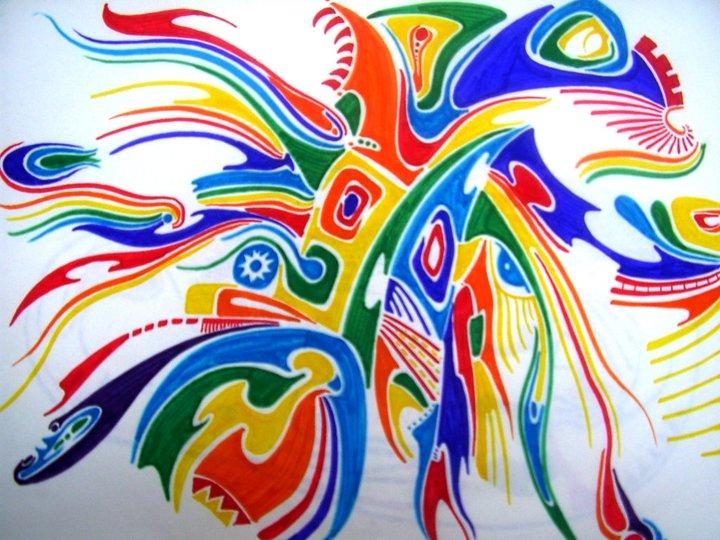 Flamboyant - Felt pens