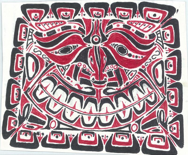 Inca Sun - Ink