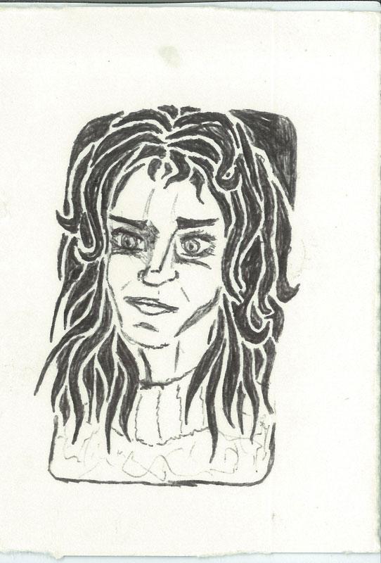 Diane - ink