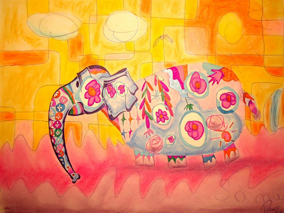 Indian elephant - sold