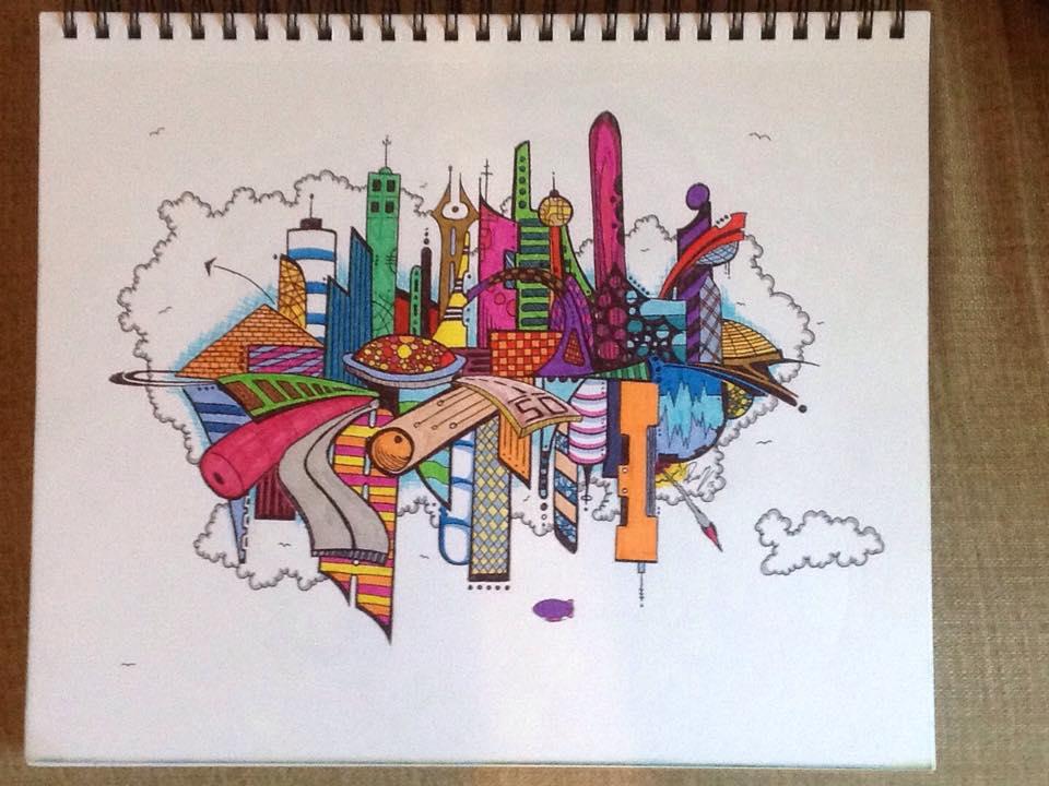 Pen city 1 - Ink