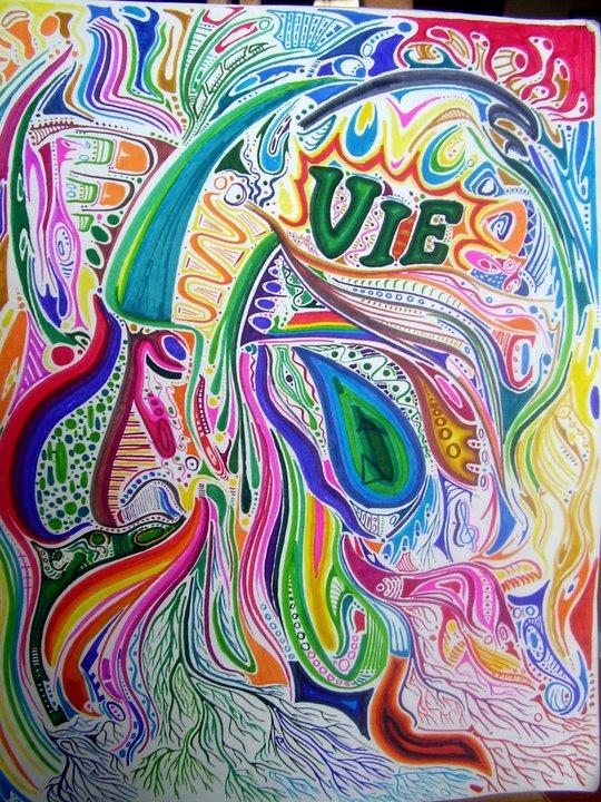 Life - Felt pens