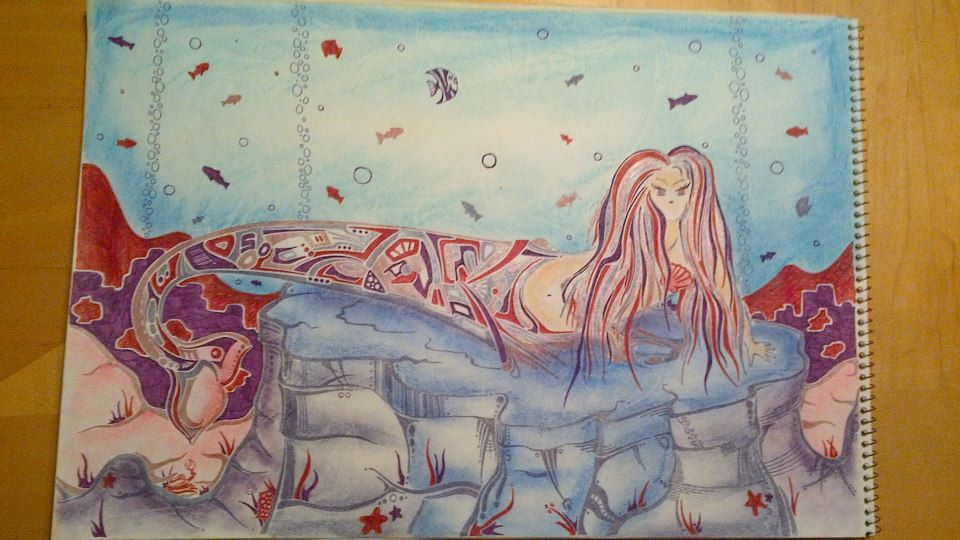 Mermaid lounge - commissionned piece- sold