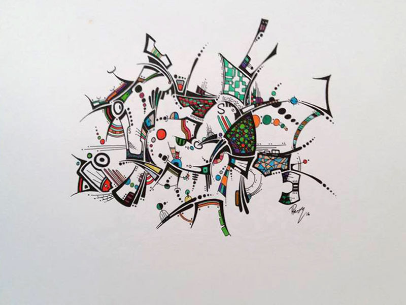 Something Lurks - Ink